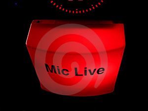Mic Live 2 Stock Photos - Image: 6093823
