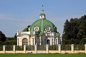 Pavilion The Grotto In Manor Sheremetevyh Stock Photos - Image: 6094353