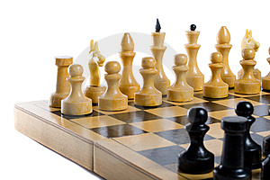 Chess Beginning Stock Photo - Image: 6096460
