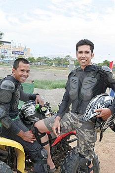 Atv Or Quad Bike Vehicle Racer Royalty Free Stock Photo - Image: 6099365