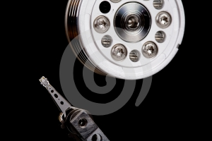 Hard Drive Detail Royalty Free Stock Images - Image: 613679