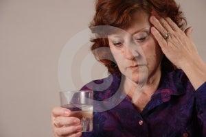 Headache. Stock Photos