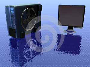 Lcd Monitor Vol 4 Stock Images - Image: 617134