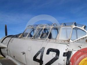 Old Combat Plane Royalty Free Stock Image - Image: 618446