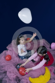 Playing In The Fairy Land Stock Images - Image: 619144