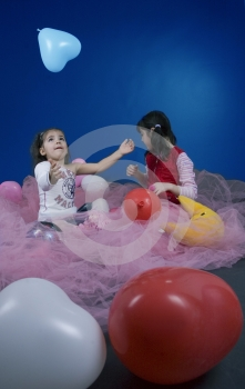 Playing In The Fairy Land Stock Images - Image: 619154