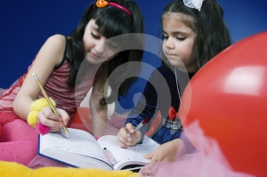 Writing In An Agenda Stock Images - Image: 619694