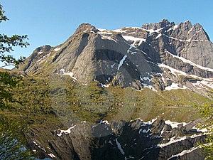 Mirroring In Lofoten's Storvatten Stock Image - Image: 6100381