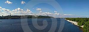 Kiev Panorama View Royalty Free Stock Images - Image: 6101059