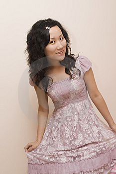 Beaufitul Chinese Girl Stock Image - Image: 6101611