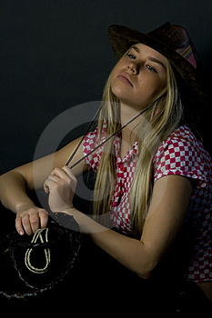 With A Whip - 2 Stock Photos - Image: 6102073