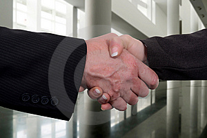 Businness agreement Royalty Free Stock Image