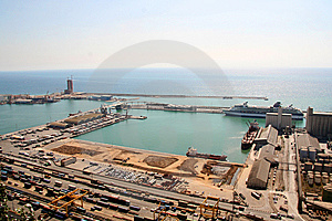 Port Of Barcelona Stock Image - Image: 6103511