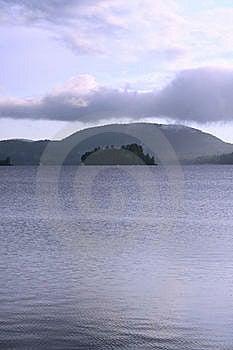Island On Lake Stock Images - Image: 6105374