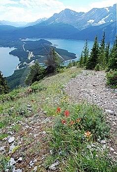 Mountains And Lake Royalty Free Stock Photo - Image: 6110855