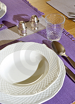 Place Setting Royalty Free Stock Photo - Image: 6113025