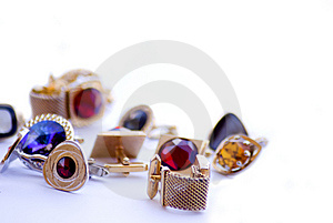 Cuff Link......... Stock Photos - Image: 6113523