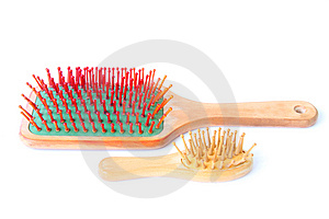 Hairbrush Royalty Free Stock Photography - Image: 6116427
