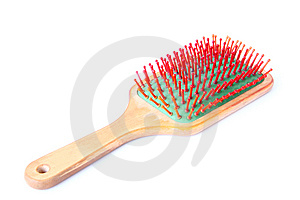 Hairbrush Stock Image - Image: 6116441