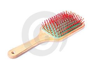 Hairbrush Stock Image - Image: 6116441