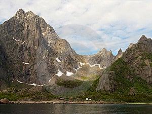 北极冰河lofoten S谷 库存照片 - 图片: 6116743