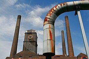热和能源厂 库存照片 - 图片: 6118593