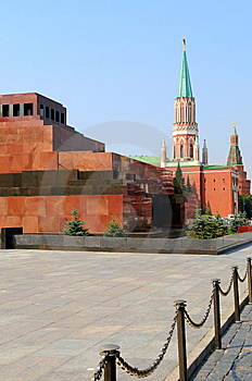 Lenin's Tomb, Moscow Stock Photography - Image: 6119142