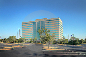 Corporate Office Building Vacant Royalty Free Stock Photography - Image: 6120767