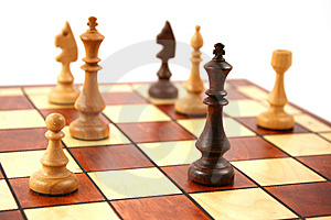 Wooden Chess Royalty Free Stock Photo - Image: 6126565