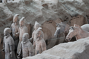 Terracotta Army Stock Photography - Image: 6135852