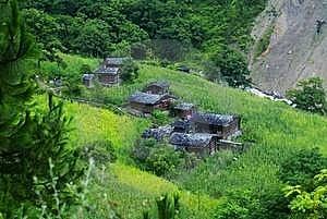 Cottage Of The Dulong Nationality Stock Photos - Image: 6136713