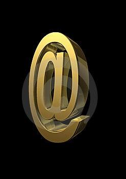 Rappresentazione 3D Al Simbolo Immagine Stock Libera da Diritti - Immagine: 6136716