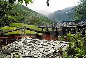 Cottage Of The Dulong Nationality Stock Photo - Image: 6136720