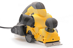 Yellow Planer Stock Photos - Image: 6136793