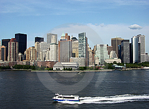 Manhattan Transportation Royalty Free Stock Images - Image: 6137499