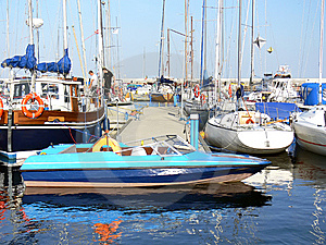 Old Motor Boat Royalty Free Stock Photography - Image: 6137887
