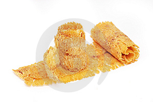 Dried Cuttlefish Scroll Royalty Free Stock Photo - Image: 6140385