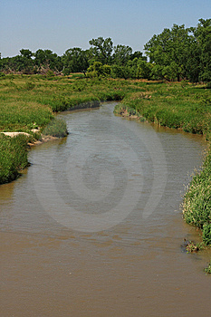 Winding River Royalty Free Stock Images - Image: 6140679