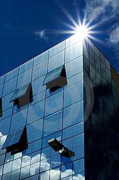 Corporate Building Royalty Free Stock Image - Image: 6142676