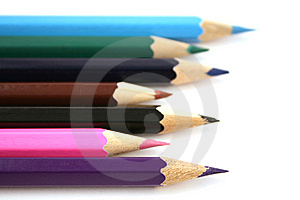 Colorful Pencils Royalty Free Stock Photos - Image: 6147768