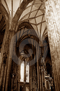 Inside A Church Stock Image - Image: 6150351