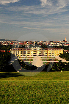 Castle Schonbrunn, Vienna Royalty Free Stock Photos - Image: 6150938