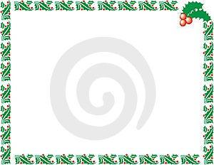Xmas рамки Стоковые Изображения - изображение: 6151194