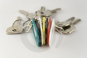 Key Fob Royalty Free Stock Photo - Image: 6153225