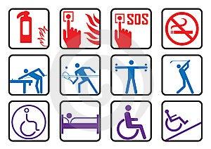 Symbols Royalty Free Stock Image - Image: 6155976