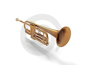 Trumpet Free Stock Photography