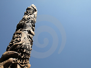 Totem Pole Royalty Free Stock Image - Image: 6157736