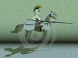 Knight On Horse Royalty Free Stock Photography - Image: 6160197