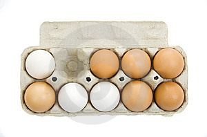 Fresh Eggs Royalty Free Stock Photography - Image: 6162017