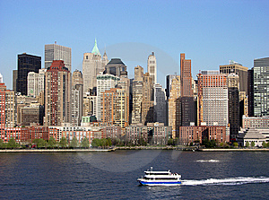 Manhattan Water Transportation Stock Images - Image: 6164094